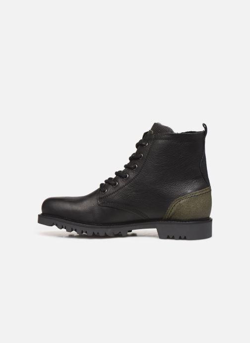Boots en enkellaarsjes Bullboxer K84988E Zwart voorkant