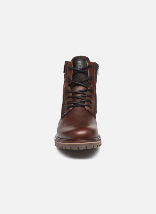 Stiefeletten & Boots Bullboxer K85508E braun schuhe getragen