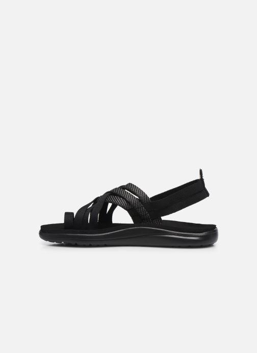 Sandalen Teva Voya Strappy W schwarz ansicht von vorne