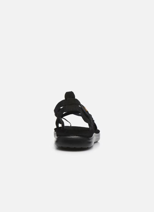 Sandalen Teva Voya Strappy W schwarz ansicht von rechts