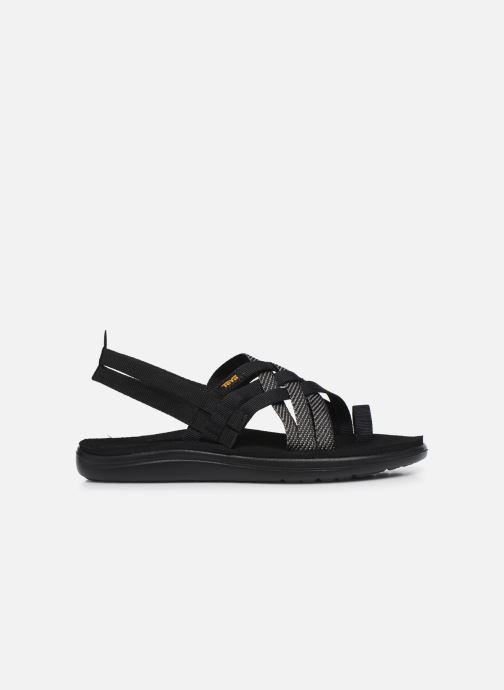 Sandalen Teva Voya Strappy W schwarz ansicht von hinten
