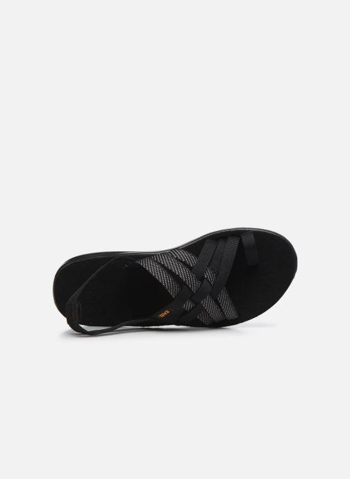Sandali e scarpe aperte Teva Voya Strappy W Nero immagine sinistra