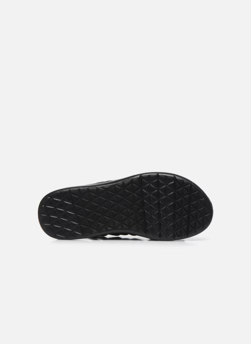 Sandali e scarpe aperte Teva Voya Strappy W Nero immagine dall'alto