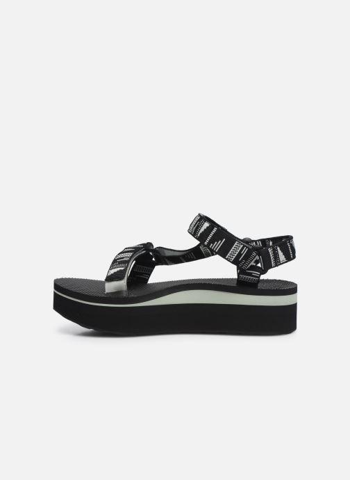 Sandali e scarpe aperte Teva Flatform Universal W Nero immagine frontale