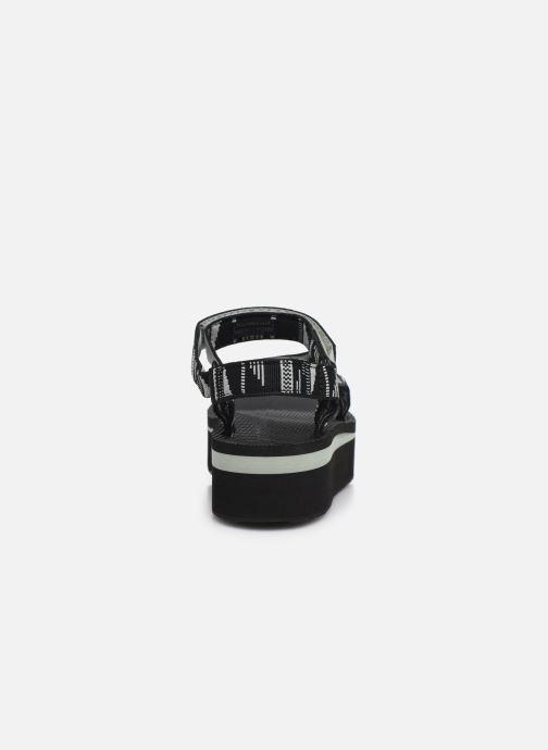 Sandali e scarpe aperte Teva Flatform Universal W Nero immagine destra