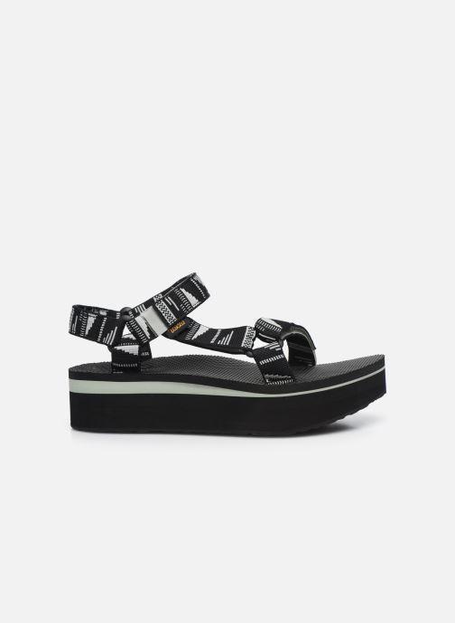 Sandali e scarpe aperte Teva Flatform Universal W Nero immagine posteriore