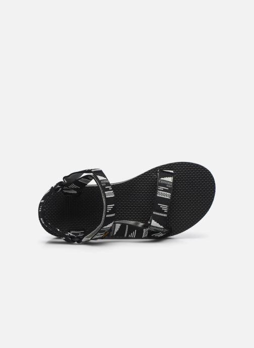 Sandali e scarpe aperte Teva Flatform Universal W Nero immagine sinistra