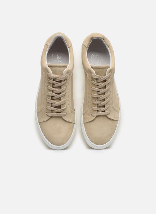 Baskets Mr SARENZA Notini Beige vue portées chaussures
