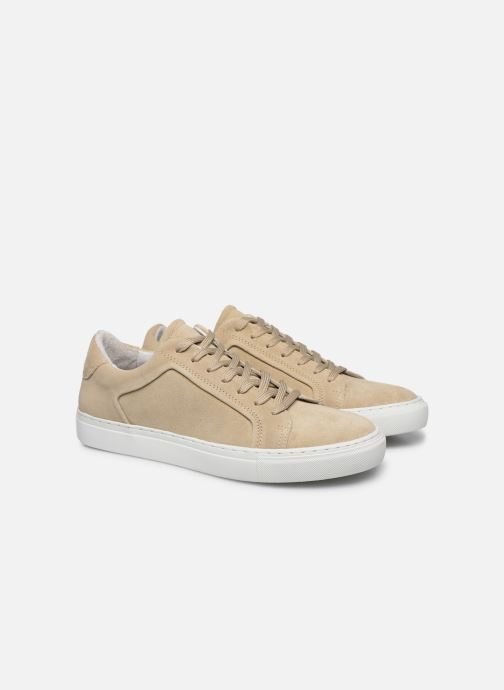 Sneakers Mr SARENZA Notini Beige immagine posteriore