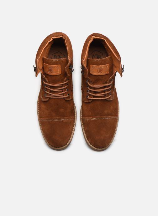 Bottines et boots Mr SARENZA Numeria Marron vue portées chaussures
