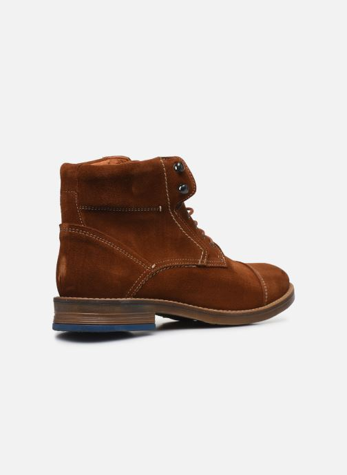 Ankle boots Mr SARENZA Numeria Brown front view