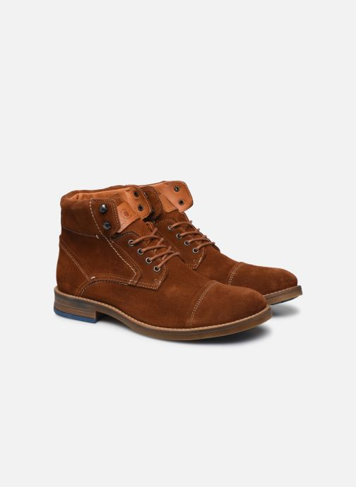 Ankle boots Mr SARENZA Numeria Brown back view