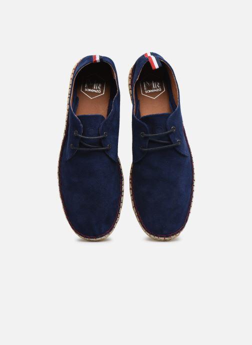 Scarpe di corda Mr SARENZA Napaja Azzurro modello indossato