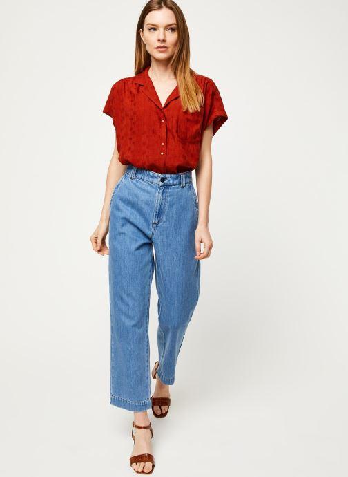 Vêtements Harris Wilson Blouse DINAIS Rouge vue bas / vue portée sac