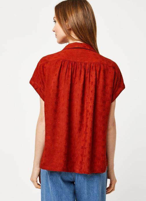 Vêtements Harris Wilson Blouse DINAIS Rouge vue portées chaussures