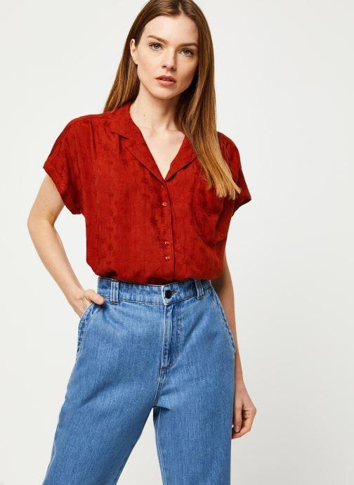 Vêtements Harris Wilson Blouse DINAIS Rouge vue détail/paire