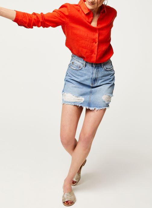 Vêtements Harris Wilson Chemise DORA Orange vue bas / vue portée sac