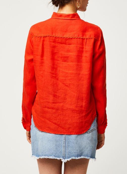 Vêtements Harris Wilson Chemise DORA Orange vue portées chaussures
