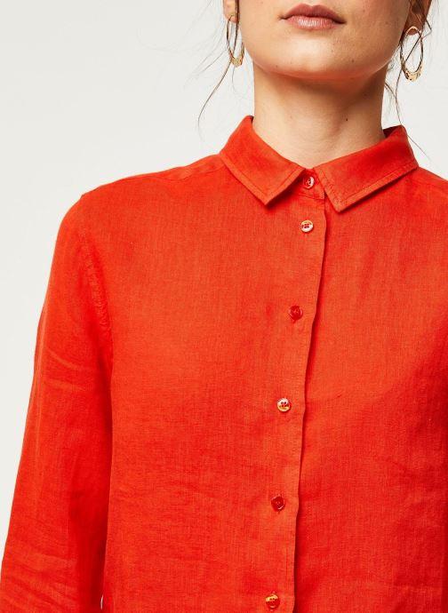 Vêtements Harris Wilson Chemise DORA Orange vue face