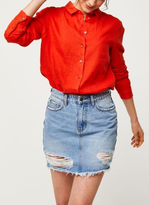 Vêtements Harris Wilson Chemise DORA Orange vue détail/paire