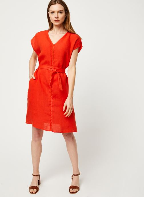 Vêtements Harris Wilson Robe DORIANA Orange vue bas / vue portée sac