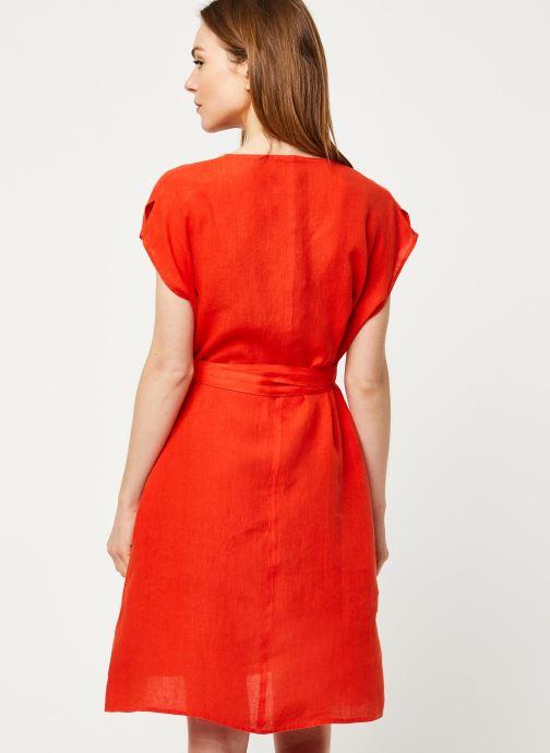 Vêtements Harris Wilson Robe DORIANA Orange vue portées chaussures