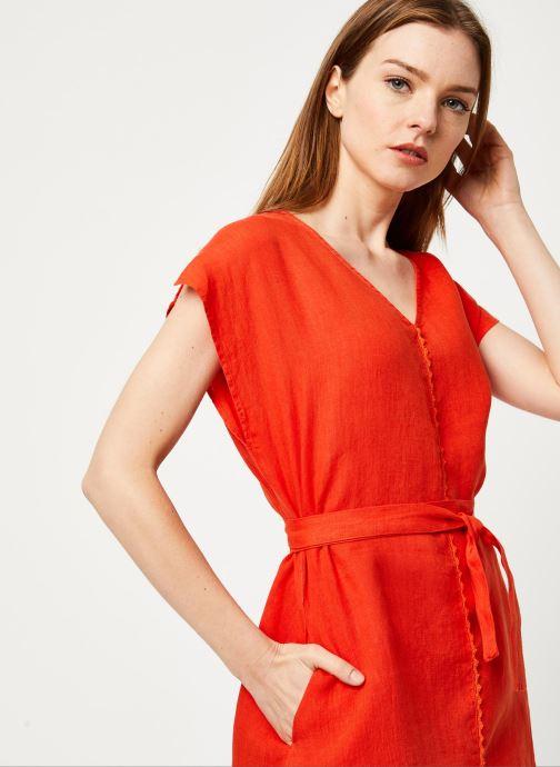 Vêtements Harris Wilson Robe DORIANA Orange vue face