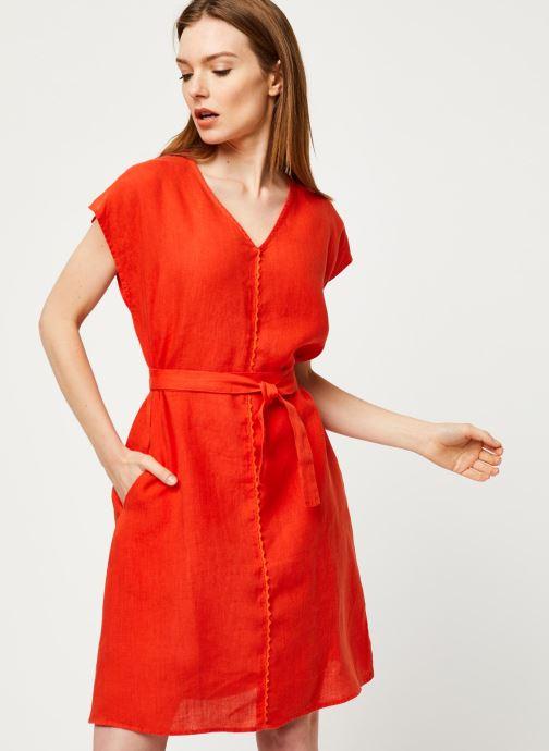 Vêtements Harris Wilson Robe DORIANA Orange vue droite