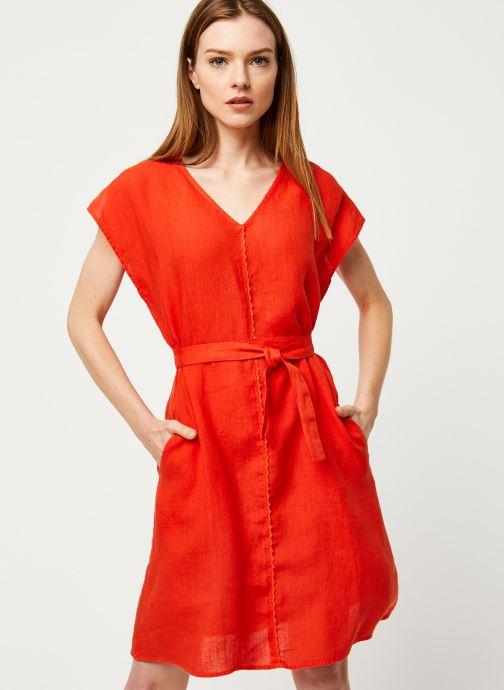 Vêtements Harris Wilson Robe DORIANA Orange vue détail/paire