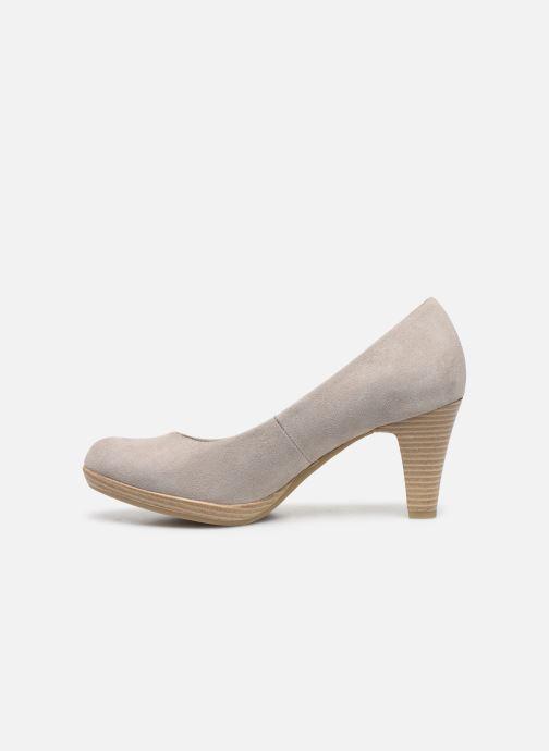 Zapatos de tacón Marco Tozzi MEMA Beige vista de frente