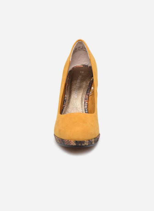 Escarpins Marco Tozzi MEYLIS Jaune vue portées chaussures