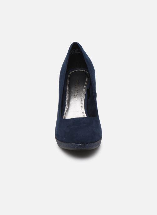Escarpins Marco Tozzi MEYLIS Bleu vue portées chaussures