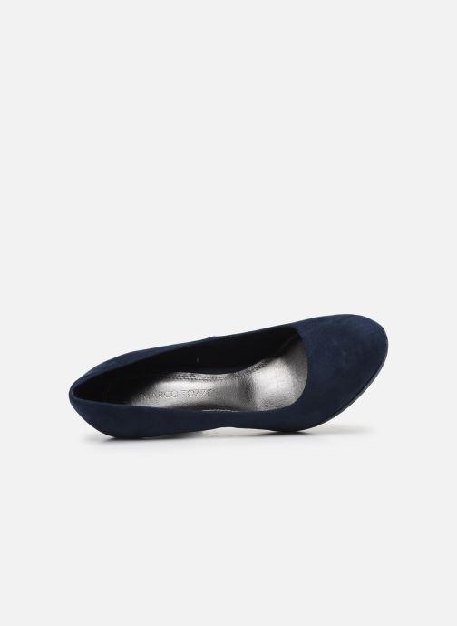 Zapatos de tacón Marco Tozzi MEYLIS Azul vista lateral izquierda
