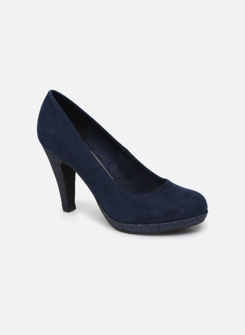 Zapatos de tacón Marco Tozzi MEYLIS Azul vista de detalle / par