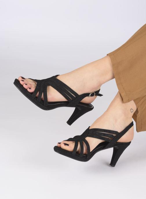 Sandali e scarpe aperte Marco Tozzi MARYLA Nero immagine dal basso