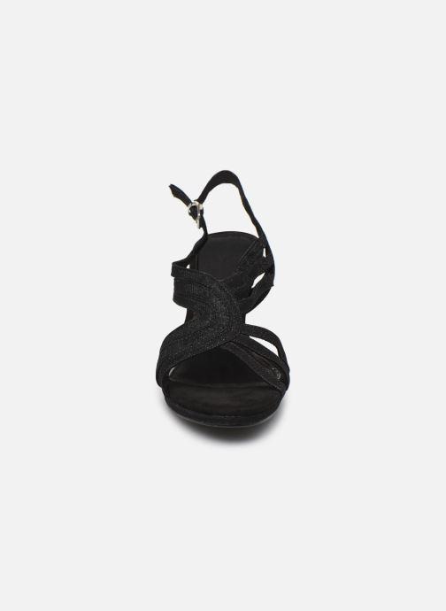 Sandali e scarpe aperte Marco Tozzi MARYLA Nero modello indossato