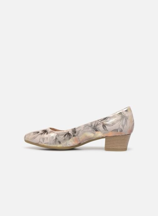Ballet pumps Marco Tozzi MAHLIA Bronze and Gold front view