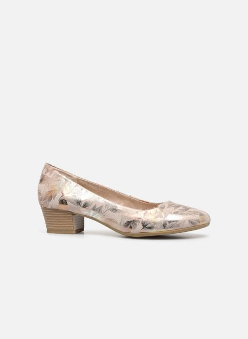 Ballet pumps Marco Tozzi MAHLIA Bronze and Gold back view