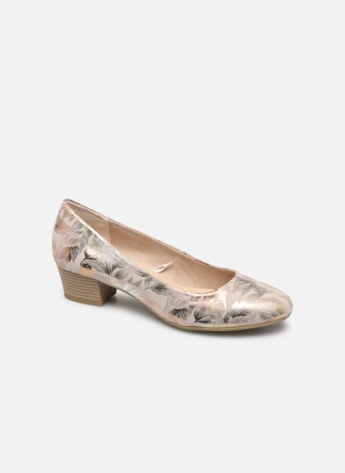 Ballet pumps Marco Tozzi MAHLIA Bronze and Gold detailed view/ Pair view