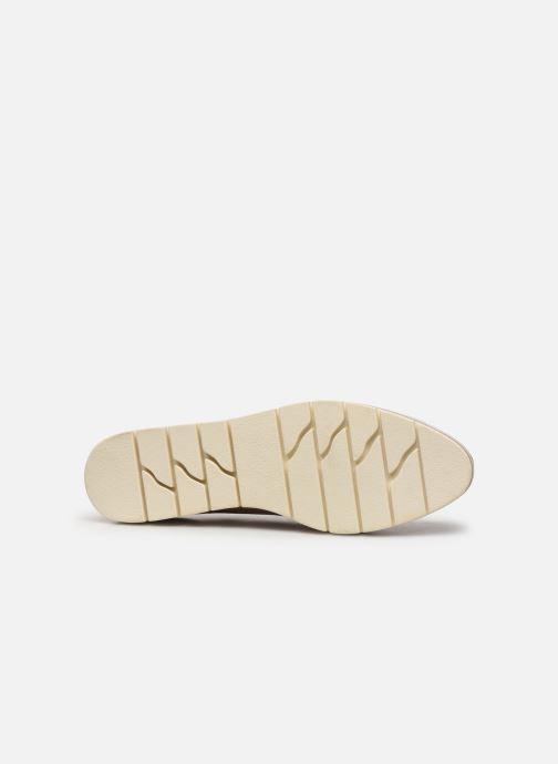 Zapatos con cordones Marco Tozzi MIARO Rosa vista de arriba