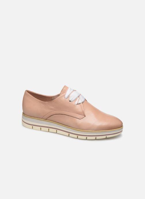 Zapatos con cordones Marco Tozzi MIARO Rosa vista de detalle / par