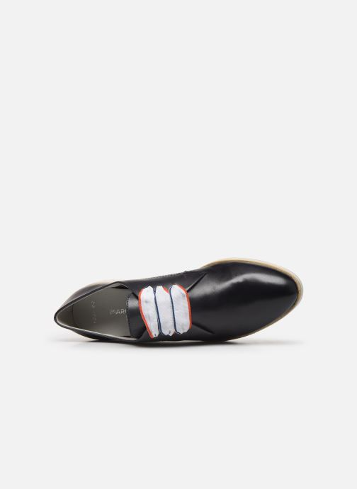 Zapatos con cordones Marco Tozzi MIARO Azul vista lateral izquierda