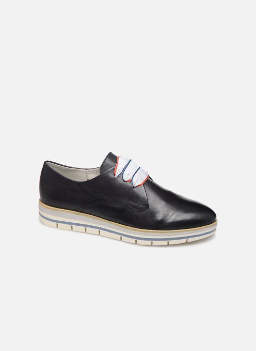 Zapatos con cordones Marco Tozzi MIARO Azul vista de detalle / par