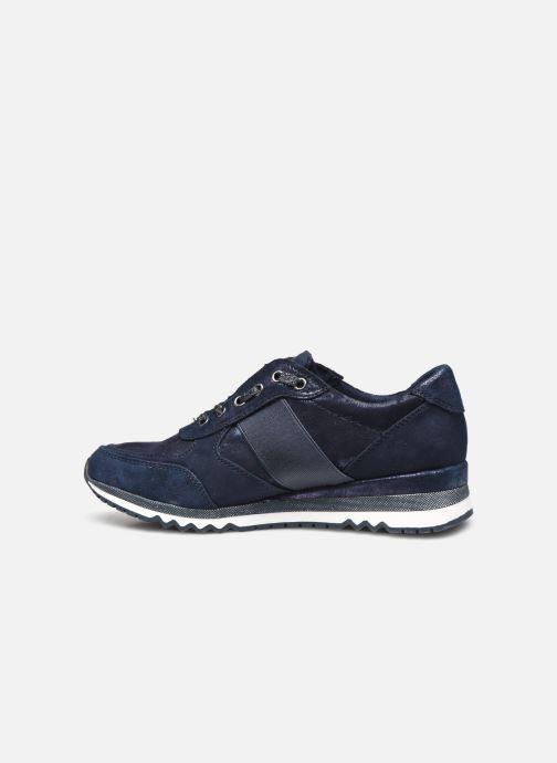 Sneakers Marco Tozzi MOEZ Blauw voorkant