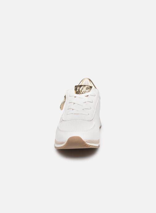 Baskets Marco Tozzi MOUNJI Blanc vue portées chaussures