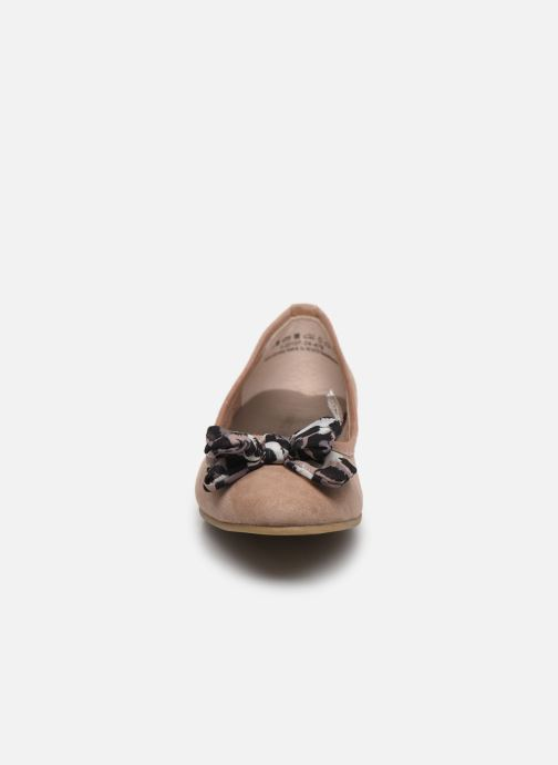 Ballerines Marco Tozzi MAEE Beige vue portées chaussures