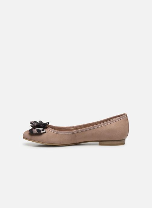 Ballerines Marco Tozzi MAEE Beige vue face