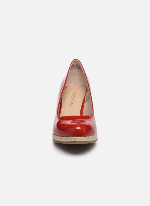 Espadrilles Marco Tozzi MERYL Rouge vue portées chaussures