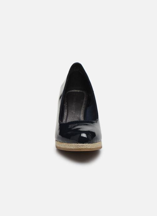 Espadrilles Marco Tozzi MERYL Bleu vue portées chaussures