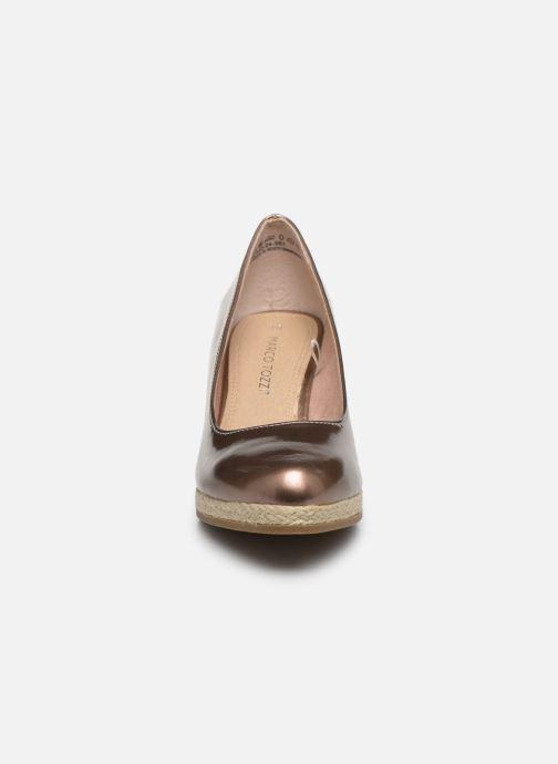 Espadrilles Marco Tozzi MERYL Rose vue portées chaussures